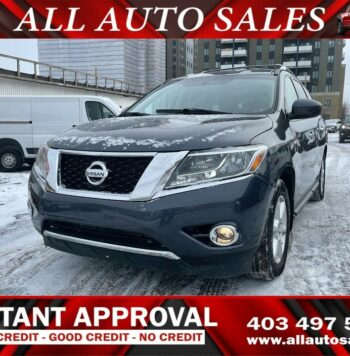 Buy 2014 Nissan Pathfinder SV from best car dealers in Calgary. We deal in all sorts of used trucks and used cars in Calgary.